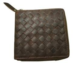 <b>Genuine Leather Male</b> Weaved Leather Mens Wallet, Rs 600 /piece ...