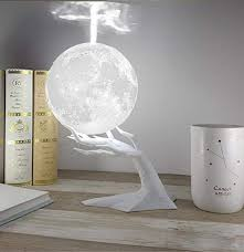 Humidifiers <b>880ML Ultrasonic Moon Air</b> Humidifier Aroma Essential ...