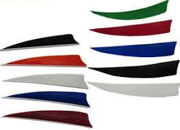 50/<b>100 Pcs</b> Natural Turkey Ring Wing Feather <b>Archery</b> Fletches ...