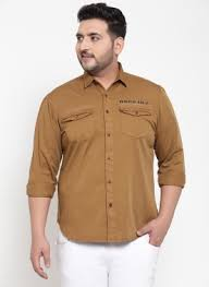 Buy <b>Large</b> Shirt <b>Size</b> for <b>Men</b>/ <b>plus size</b> shirts  Pluss.in