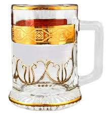 """<b>Кружка для пива</b> 300 мл золото <b>Bohemia</b> """"Diaryt Kob"""" MH / 110096"""