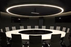 right here youre looking at a conference room modeled after the war room in dr strangelove because why not image airbnb airbnb office 6 google san