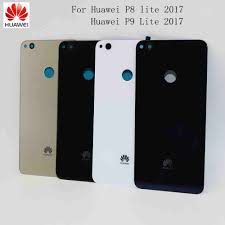 <b>Original Huawei</b> P8 Lite 2017 <b>Back Battery</b> Cover <b>Rear</b> Door For ...
