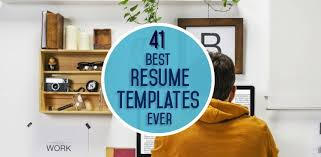 top  resume templates ever   the museresume templates