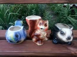 Чайный комплект - Грибное лукошко - Майолика.: 320 грн ...