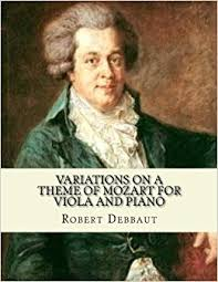 Amazon.com: Variations on a Theme of Mozart for Viola and <b>Piano</b> ...