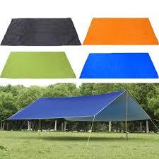 210x150cm <b>Outdoor Camping Tent</b> Tarp Sunshade Rain Shelter ...
