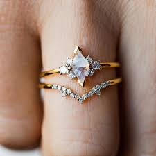 7mm Charles & Colvard Moissanite <b>engagement ring</b> set,diamond ...