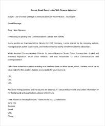 email cover letter word format template free download format email cover letter