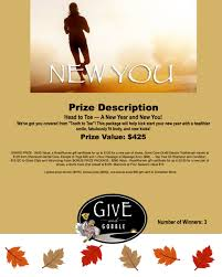 featured products prize drawing ticket for new year new you value 425