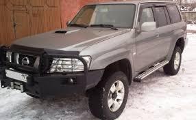 Купить Силовые пороги на Nissan Patrol Y61, крепление к раме, 2 ...