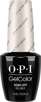<b>OPI GelColor</b> - <b>It's in</b> the Cloud 0.5 oz - #GCT71   Gel color, Opi ...