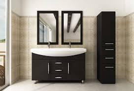 bathroom modern vanity designs double curvy set: vanity design ideas design element hudson contemporary bathroom vanity with apartement small bathroom also wooden frame