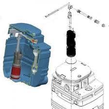 <b>Комплект</b> для <b>подключения насоса</b> Divertron к резервуару DAB ...