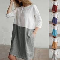 <b>Woman</b> Linen Dress Plus Size NZ
