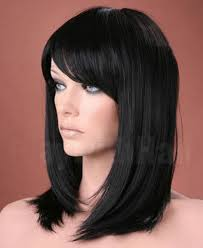 Forever Young UK Ladies <b>Long Straight Side Bangs Fringe</b> Off ...
