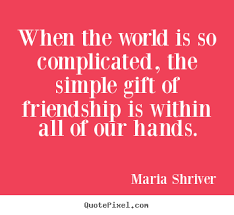 Gift Of Friendship Quotes. QuotesGram