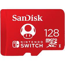 <b>SanDisk</b> 128GB <b>MicroSDXC</b> Memory Card, Licensed For Nintendo ...