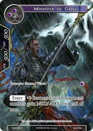 Minister of Grief (Full Art) - New Dawn Rises - Force of Will ...