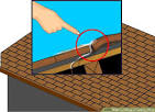 How to repair a leaky asphalt shingle roof -