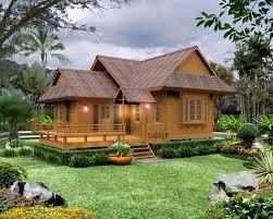desain rumah tradisional sunda:  desain dan model rumah panggung kayu minimalis sunda modern
