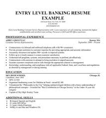 entry level banker resume sample objective entry level objective resume