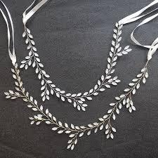 2019 <b>SLBRIDAL Clear Silver</b> Opal Crystal Rhinestones Wedding ...