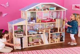 large wooden barbie dollhouse barbie doll house furniture sets