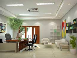 surprising contemporary office interior design inspiration with elegant desk and black gray contemporary office chairs also alluring cool office interior designs awesome