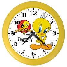 tweety bird things new tweety bird wall clock gifts ebay blank wall clock frei