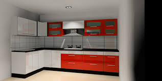modular kitchen colors: agreeable modular kitchen engaging modular kitchen with l shape white orange colors kitchen cabinets black color granite countertops white ceramics backsplashes wall mounted cabinets with glass door built in stoves silver colo