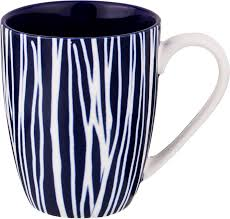 <b>Кружка Agness</b>, 585-110, белый, темно-синий, 400 мл — купить в ...