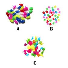 <b>36Pcs</b> Bicycle Wheel Spoke Colorful Plastic Bead Multi Color ...