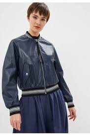<b>Куртка</b> кожаная <b>Sportmax Code Sportmax Code</b> NOCe купить за ...