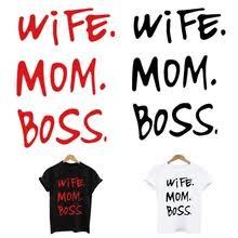 wife <b>mom boss</b> sweatshirt