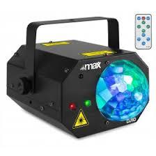 DJ10 <b>Jelly Moon</b> with Red/Green Laser - Tronios.com