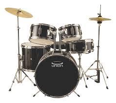 Union Drums UJ5 5-Piece Drum Set Black DRSUJ5BK - Best Buy