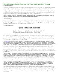Military Veteran Resume Examples  how to write a resume example