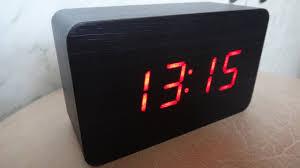 <b>Настольные</b> электронные <b>часы</b> - будильник - YouTube