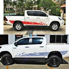 Customize FOR TOYOTA HILUX VIGO REVO <b>car</b> modified ...