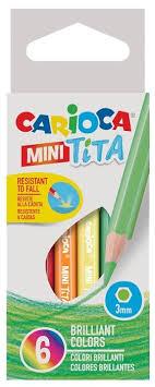 <b>Карандаши цветные Carioca</b> Mini <b>tita</b> — купить по выгодной цене ...