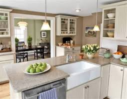 Open Kitchen And Dining Room Designs Open Kitchen Dining Room Color Ideas House Decor Picture