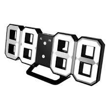 Digoo dc-k3 multi-function large <b>3d led digital wall clock</b> alarm clock ...