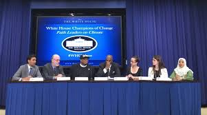white house champions of change share their journey to climate faith advocacy for climate panel l r moderator rohan patel special assistant to the president for intergovernmental affairs patrick carolan rev