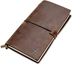 <b>Leather Notebook Journal</b> - Refillable <b>Travel Journal</b> | Hand-Crafted ...