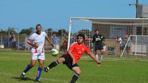 soccer gallery for the past weekend whyalla news reggie evans westlands drago garma and keeper in the back jesse
