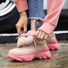 Лидер продаж; модные милые <b>женские кроссовки из</b> ...