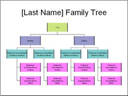 family tree diagram example    family tree diagram example