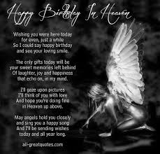 Happy Birthday In Heaven .. Wishing you were here today via Relatably.com