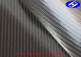 <b>TPU</b> Coated Twill 3K <b>Carbon Fiber</b> Leather Fabric For Wallets / Bags